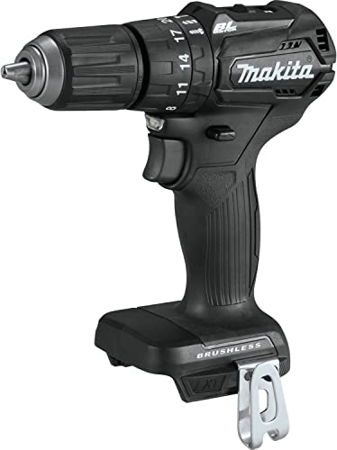 """Makita XPH11ZB 18V LXT Lithium-Ion Sub-Compact Brushless Cordless 1/2"""" Hammer Driver-Drill, Tool Only"""