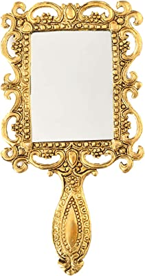 Houzzplus Handicrat Metal Decorative Mirror - Wedding Gifts - Antique Item