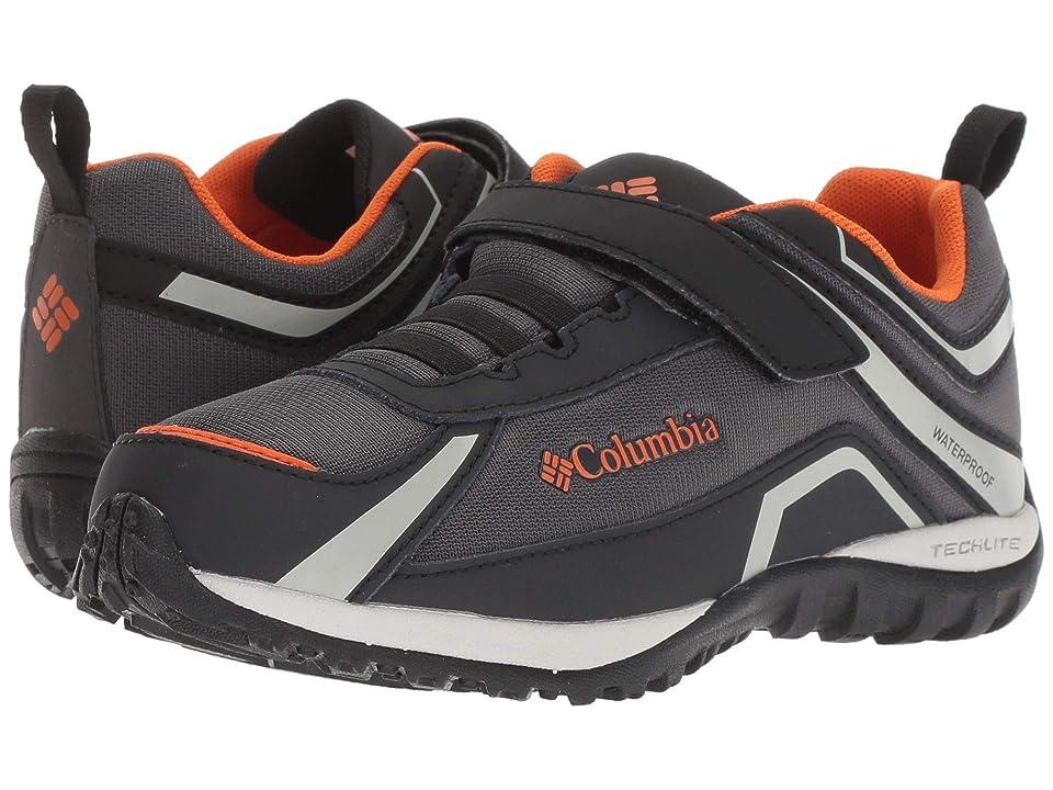 Columbia Kids Conspiracytm Waterproof (Little Kid/Big Kid) (Dark Grey/Heatwave) Boys Shoes