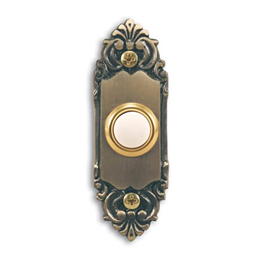 Decorative Doorbell Button Beautifully Crafted P Brass Doorbell Wired Button