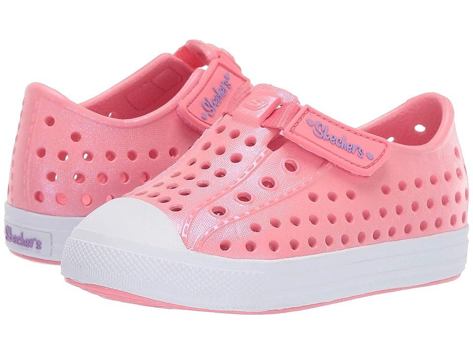 SKECHERS KIDS Guzman 2.0 (Toddler/Little Kid) (Pink) Girl