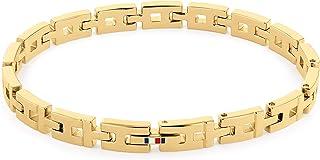 سوار تومي هيلفيغر الذهبي للنساء القابل للتعديل وعليه شعار العلامة التجارية - 2780428