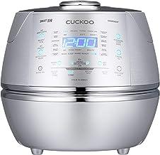 CUCKOO CRP-DHSR0609F Cuiseur de riz à pression à vapeur 1080ml 6 tasses | Technologie de chauffage par induction IH | Prog...