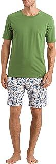 Hanro Men's Luca Short Woven Pants Pajama Bottom