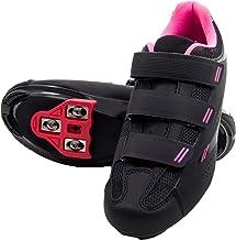 بسته کفش دوچرخه سواری آماده چرخش زنانه Tommaso Pista با کفش راحتی سازگار ، ظاهر دلتا ، SPD - سیاه ، آبی ، صورتی ، سفید