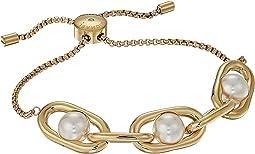Pearl Link Slider Bracelet