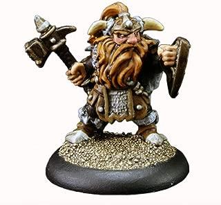 Dwarf Warrior - Dark Heaven Bones Miniature by Reaper
