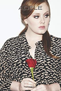 """adele notebook: adele notebook 6"""" x 9"""" (15.24 x 22.86 cm) 110 pages"""