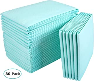 Incontinence Bed Pads Disposable Underpads for Adults, Children and Pets,Absorbency Disposable Bed Pads for Incontinence (36Lx23W,30Pads)