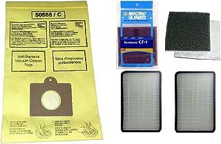 11 Kenmore Type C or Type Q Premium Allergen Canister Vacuum Bags, (1)