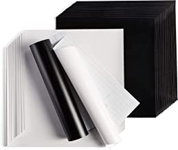 "Cricut Premium Vinyl – Removable, 12"" x 12"" Adhesive Decal Sheets – Black.."