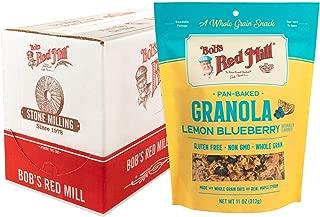 Bob's Red Mill Pan-Baked Lemon Blueberry Granola, 11-ounce (Pack of 6)