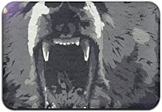 Bear Art Personalized Door Mats