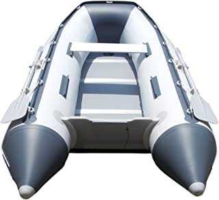 Newport Vessels 9ft 6in Del Mar - Inflatable Dinghy Boat - Transom Sport Tender Boat, 4 Person - 10 Horsepower - USCG Rated