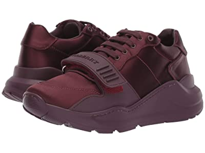 Burberry Regis Low Satin (Claret) Women