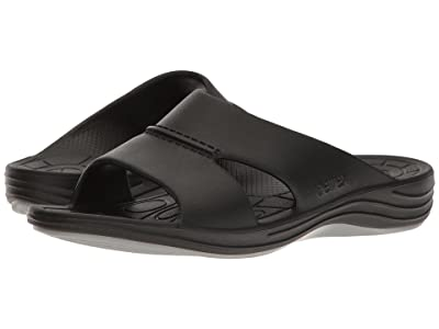 Aetrex Lynco Slide (Black) Men