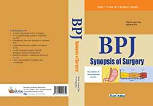 BPJ SYNOPSIS OF SURGERY