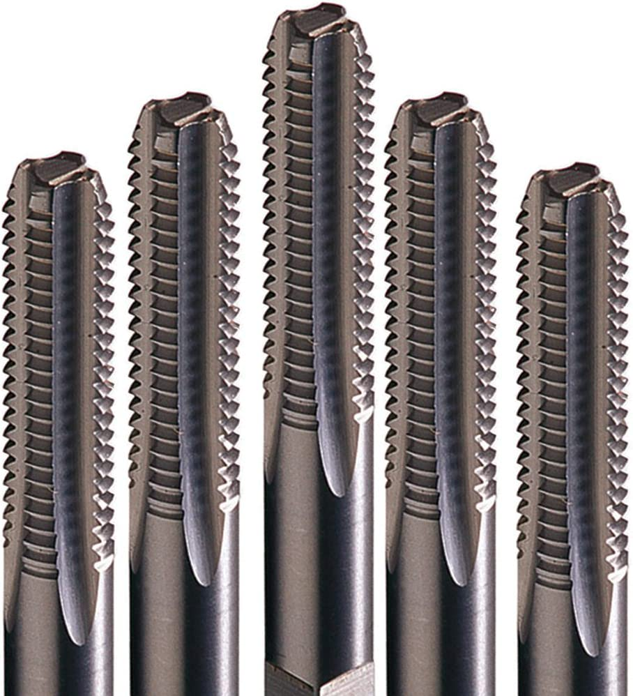 Champion Cutting Tool Industrial Quality Metric High Speed Steel Taps:308M-8X1-B-Made in USA 3 per pack