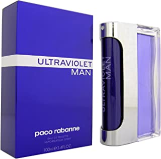 Ultraviolet Man by Paco Rabanne for Men - Eau de Toilette, 100ml