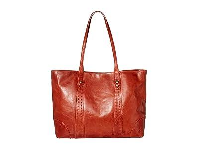 Frye Melissa Shopper (Burnt Orange) Hobo Handbags