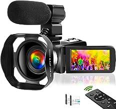 Video Camera 4K Camcorder Vlogging Camera for YouTube UHD...