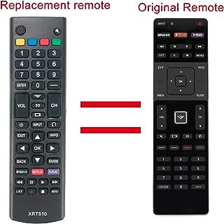 Replaced XRT510 Remote Control for Vizio TV M701D-A3R M801D-A3 M801D-A3R M321i-A2 M401i-A3 M471i-A2 M501D-A2 M501D-A2R M551D-A2 M551D-A2R M601D-A3 M601D-A3R M651D-A2