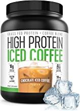 Protein Coffee Iced Coffee, High Protein Coffee, Protein Coffee, Keto Friendly, 18g of Protein, 2g Carbs, All Natural (18 ...