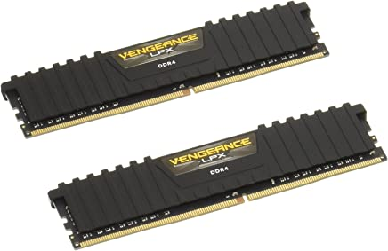 Corsair Vengeance LPX 8GB (2x4GB) DDR4 DRAM 2400MHz (PC4 19200) C16 Memory Kit - Black