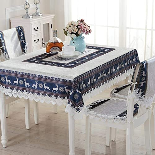 excelentes precios WENYAO Lace European styTablecloth,Fluid Systems Tea tabcloth,Tabcloth,Water Resistant Tablecloth A A A 110x110cm(43x43inch)  saludable