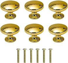 Paddestoel Meubelknoppen Handgreep Van Zinklegering Meubelknop Kast Knoppen Gouden Deurklinken Eengatsgreep Zinklegering R...