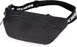 Skechers Gürteltasche Bauchtasche, Hüfttasche mit verstellbarem Riemen,Wasserdicht Handytasche, für Laufen, Sport Wandern,...