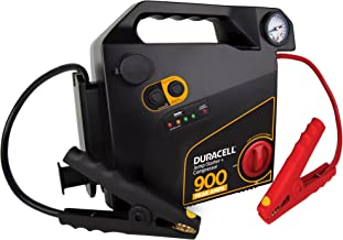Duracell Portable Emergency Jumpstarter with Compressor, 900 Peak Amps