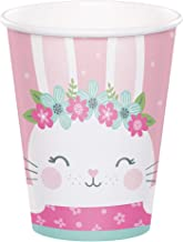 Creative Converting Party Supplies, Bunny Party Cups, Cup H/C, Multicolor, 9Oz, 8ct