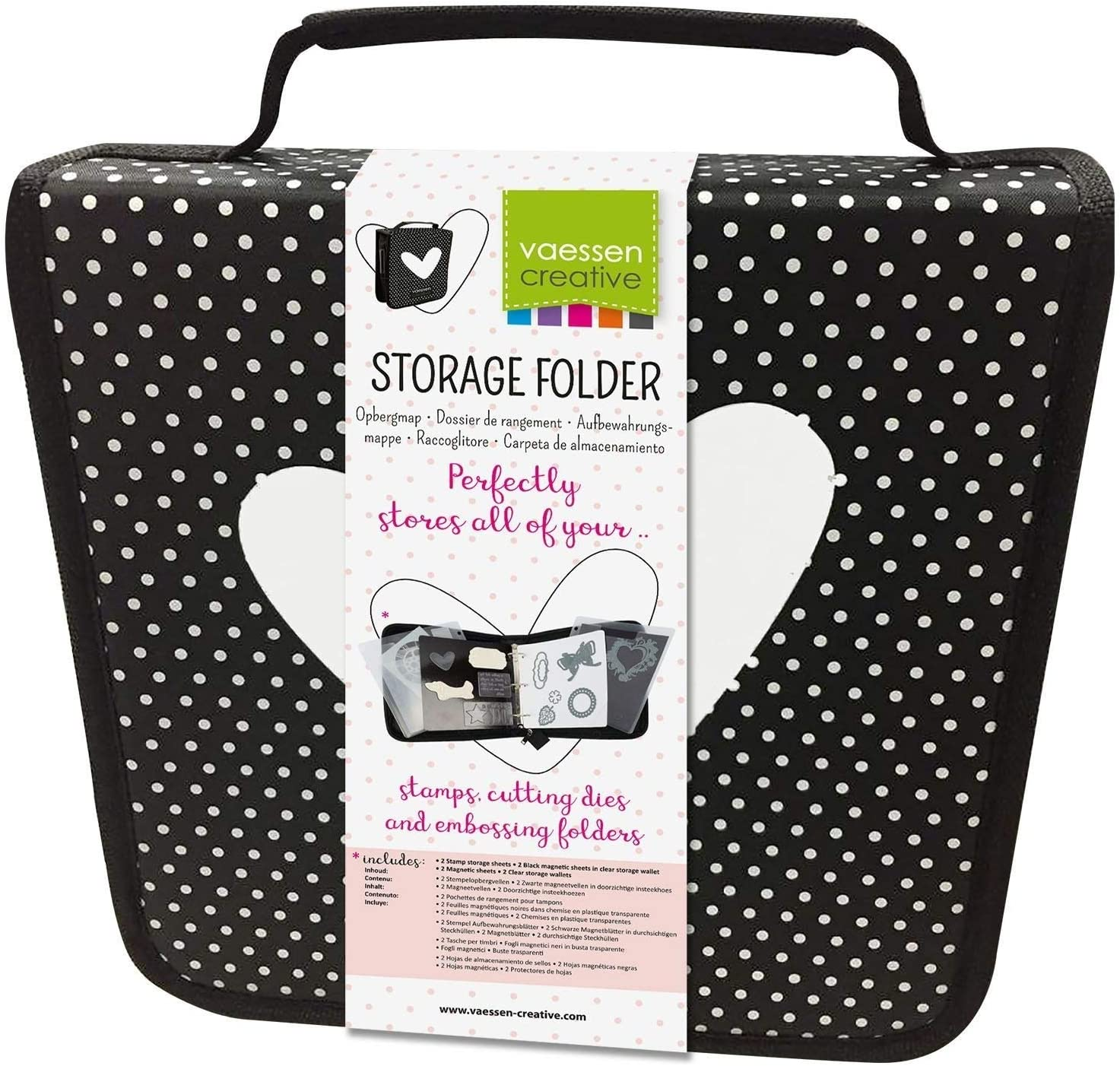 Vaessen Creative Gorgeous Storage Pockets and Organise Sheets Max 70% OFF Magnetic to