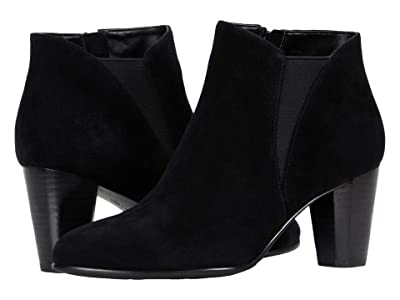 David Tate Pippy (Black Suede) Women