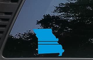 High Viz Inc Thin Blue Line - Missouri - 5 3/4