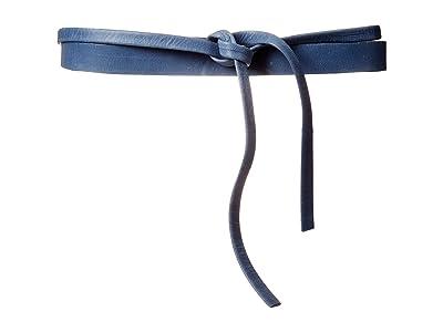 ADA Collection Skinny Wrap Belt (Indigo) Women