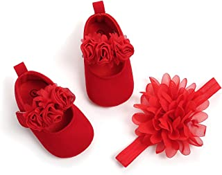 red shoe for baby girl