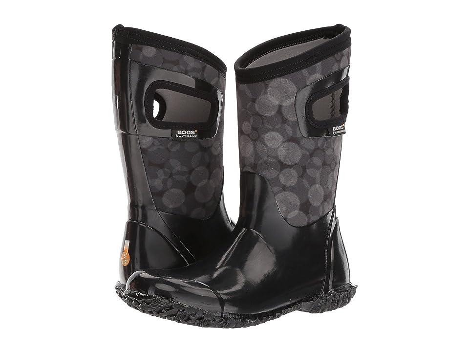 Bogs Kids North Hampton Rain (Toddler/Little Kid/Big Kid) (Black Multi) Girls Shoes