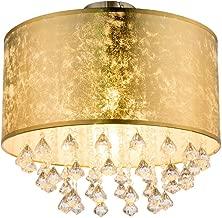 Luxus LED Wand Lampe Kristall Blätter Blüten Schlaf Gäste Zimmer Lampe silber