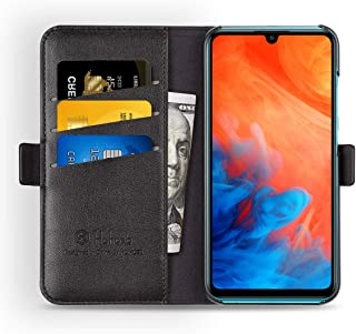Huawei P30 lite ケース 手帳型 P30 lite ケース 財布型 サイドマグネット式 カード収納 スタンド機能 高級PUレザー 耐衝撃 P30 lite ケース 手帳 カバー 全面保護 耐摩擦 人気 おしゃれ Hohosb(Huawei P30 lite 用,ブラック)