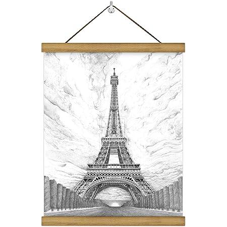 31.5 Posterhänger für Bilder und Poster in diversen Größen Magnetische Posterleiste Schwarz- Posterschiene REINDERS