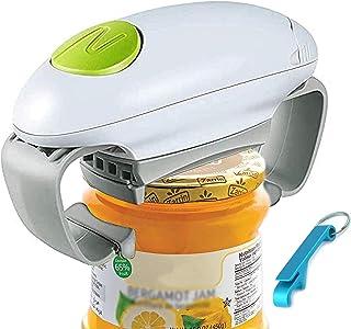Elektrische Jar Opener, Restaurant Blikopener, Smooth Edge Automatische Jar Opener voor Individuen, Artritis en Huisvrouw,...