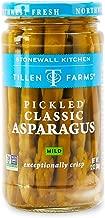 Tillen Farms Veggies, Pickled Crispy Asparagus, 12 Ounce (Pack of 4)