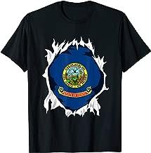 Idaho Jersey   Gift for Idahoan, ID Native Home State Flag T-Shirt