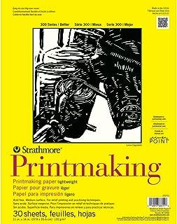 Strathmore 333-11 300 Series Printmaking, Lightweight, 11