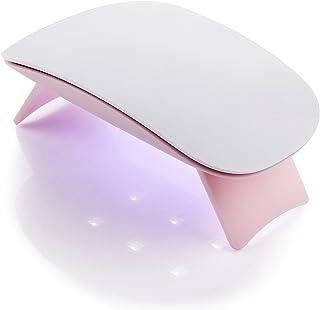 Makartt 6W LED UV Nail Dryer Curing Lamp 60S Timer USB Portable for Gel Nails Based Polishes C-01