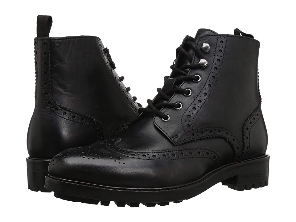 Kenneth Cole New York Maraq Lug Boot (Black) Men