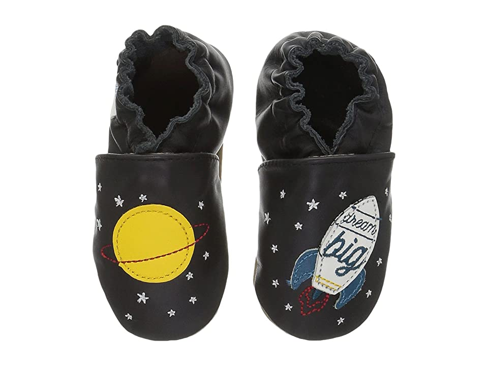 Robeez Space Dream Soft Sole (Infant/Toddler) (Black) Boy