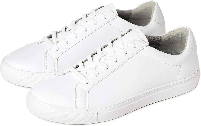 Voet Men's Milo Vegan Leather Classic Casual Fashion Sneaker